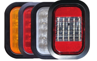 Alt Enterprises 3 x 5 Rectangular Heavy-Duty Truck STT Light