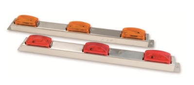 Alt Enterprises Stainless Steel ID Bar with 3 Lights