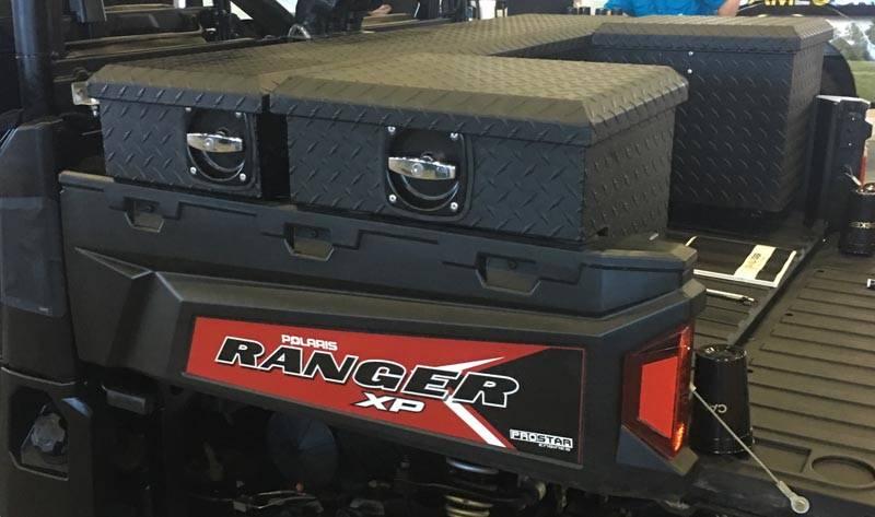 CamLocker UTV tool Boxes