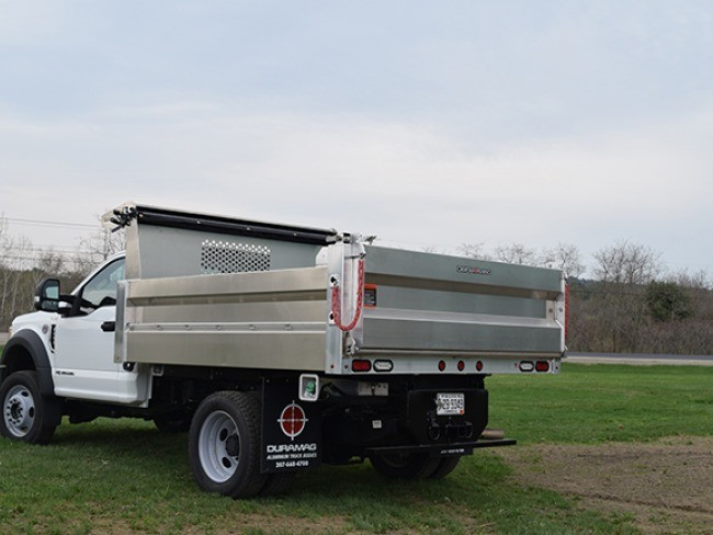 Duramag Dump Body with Tarp Option
