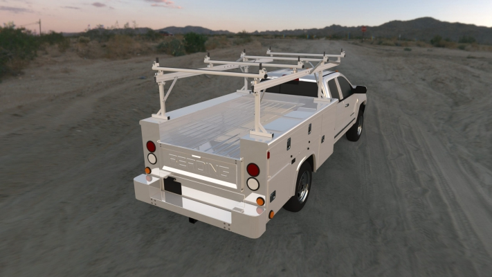 Prime Design Over-the-cab Rack