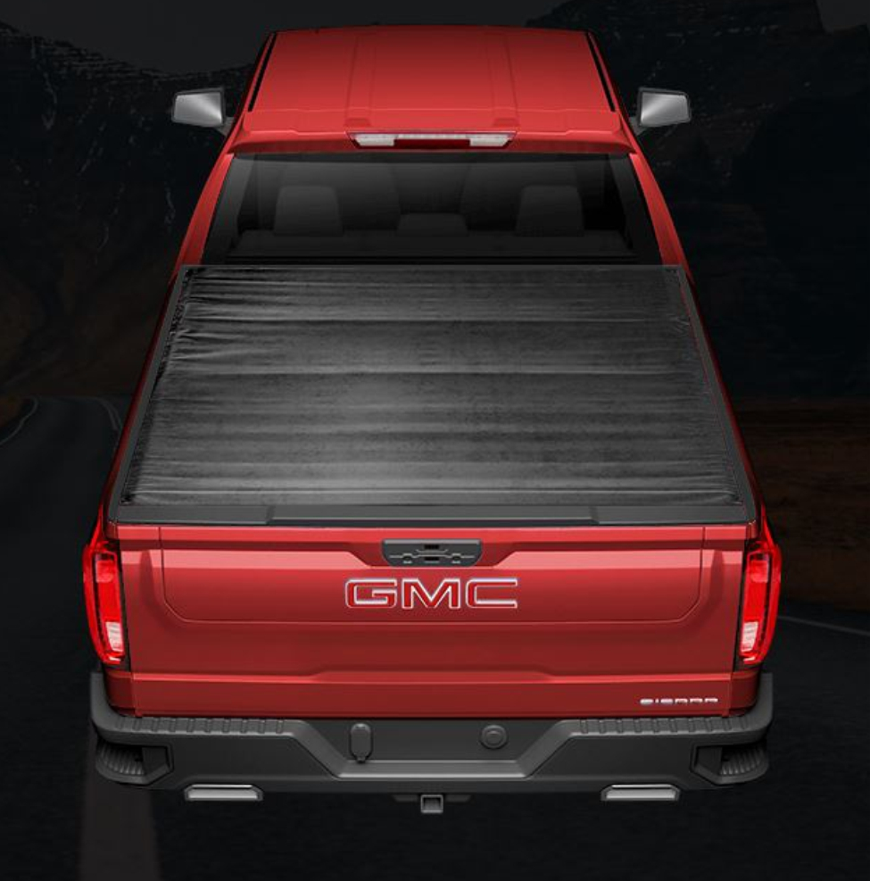 TrailFX - TFX Soft Roll-Up Velcro Tonneau Cover