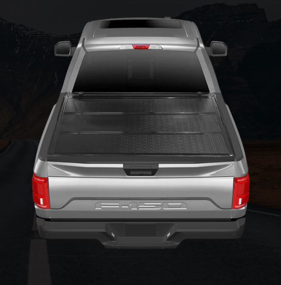 TrailFX - TFX Standard Flush Hard Tri-Fold Low Profile Tonneau Cover